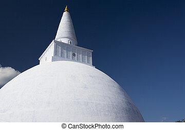 Mirisavetiya Stupa, Anuradhapura, Sri Lanka - Image of...