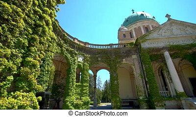 Mirogoj Cemetery in Zagreb, Croatia - Mirogoj Cemetery with ...