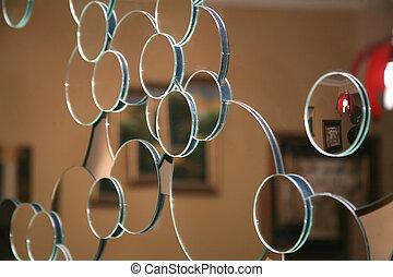mirror background