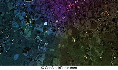 mirror ball effect backgrounds - high reflection of ball...