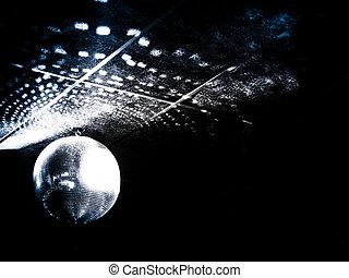 Mirror ball in a night club - Mirrorrball at a nignt club