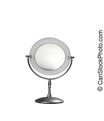 mirror on white background