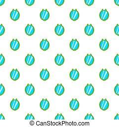 Mirror pattern, cartoon style