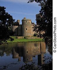 Mirror, tower, Castle