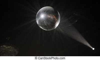 Mirrorball dance floor - Mirrorball over the dance floor