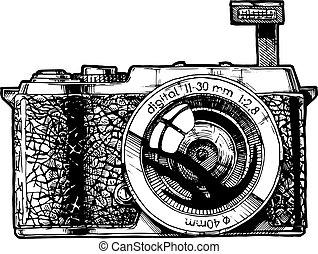 Mirrorless interchangeable-lens camera. - MILK. Mirrorless...