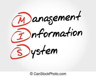 MIS Management Information System