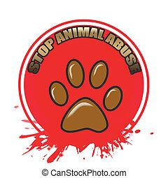 misbruiken, dier