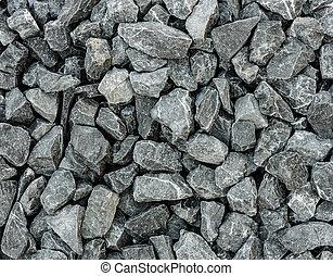 mischling, grau, beton, hintergrund, granit, kies