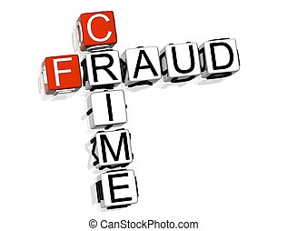 misdaad, fraude, kruiswoordraadsel