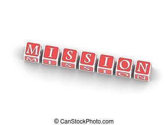 misión, buzzwords