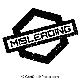 Misleading rubber stamp. Grunge design with dust scratches....
