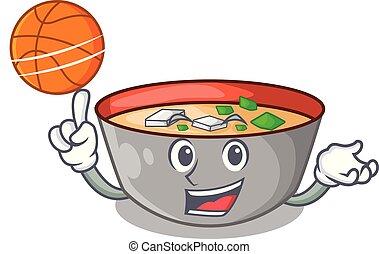 miso, バスケットボール, ボール, 日本語, スープ, 漫画