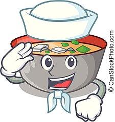miso, ボール, 日本語, スープ, 船員, 漫画