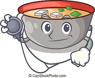 miso, 医者, ボール, 日本語, スープ, 漫画