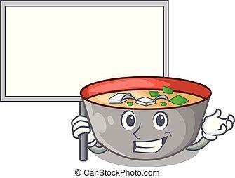 miso, 持って来なさい, ボール, 日本語, スープ, 板, 漫画