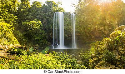 Misol Ha Waterfall Chiapas