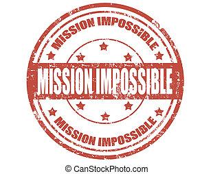 missão, impossible-stamp
