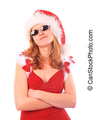 Miss Santa is a Cool Girl