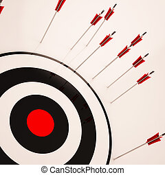 Missed Target Shows Failure Unsuccessful Aim - Missed Target...