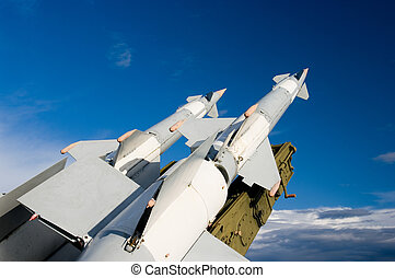 Missiles armed forces of medium-range flight. Air defense