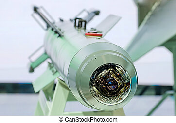 Missiles weapons with guidance and a wide range of vision.