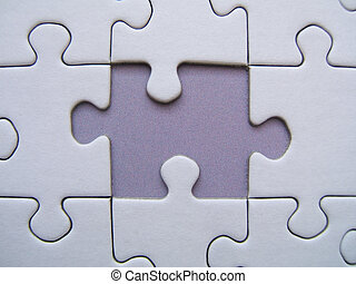 Missing element of a puzzle
