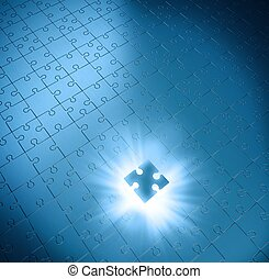 Missing piece of the puzzle of success