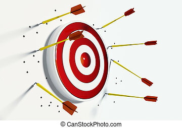 Missing the target - Bad ideas always missing target. ...