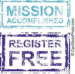 Mission Accomplished Register Free