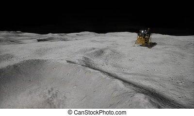mission, atterrissage lune, lunaire