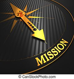 mission., business, concept.