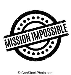 Mission Impossible rubber stamp