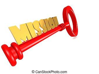 Mission key