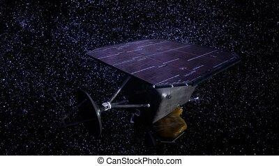 mission, profond, impact, sonde spatiale