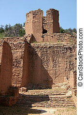 Mission Ruins - Despite the ravages of time and weather, the...