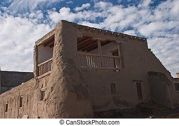 Mission San Esteban del Rey - Begun in 1630, only 32 years...