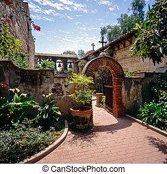 Mission San Juan Capistrano, California, build 1776