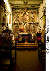 Mission San Juan Capistrano Church Alter