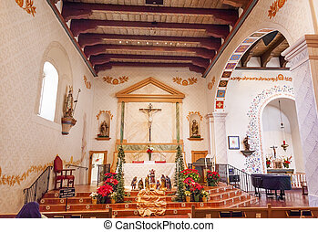 Mission San Luis Obispo de Tolosa California Basilica Cross ...