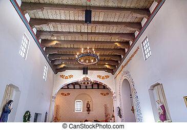 Mission San Luis Obispo de Tolosa California Basilica Wooden...