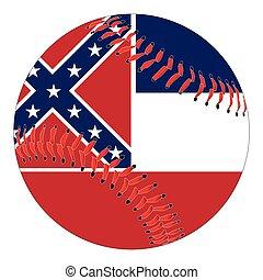Mississippi Flag Baseball