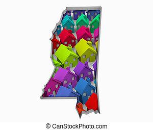 Mississippi MS Homes Homes Map New Real Estate Development ...