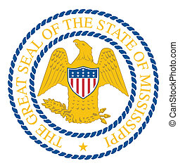 Mississippi State Seal - The seal of the United Steas of ...