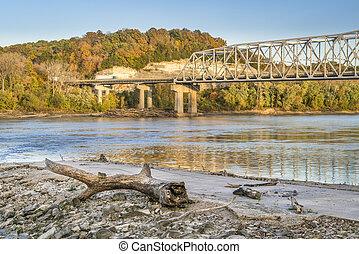 Missouri River near Rocheport