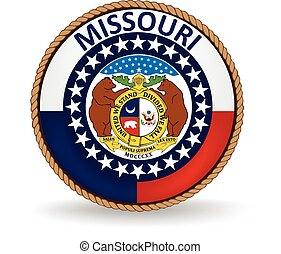 Missouri State Seal - Seal of the American state of Missouri...