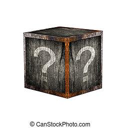 mistério, caixa