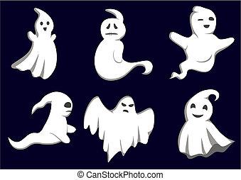 mistério, fantasmas