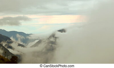 Mist in the the Pastaza Valley, Ecu - In the Amazonian...
