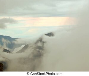 Mist in the the Pastaza Valley, Ecu - In the Ecuadorian...